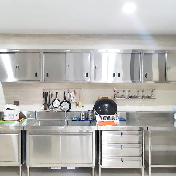 +5 Lemari Dapur Stainless Terbaru 2020 - Desain Dekorasi Rumah