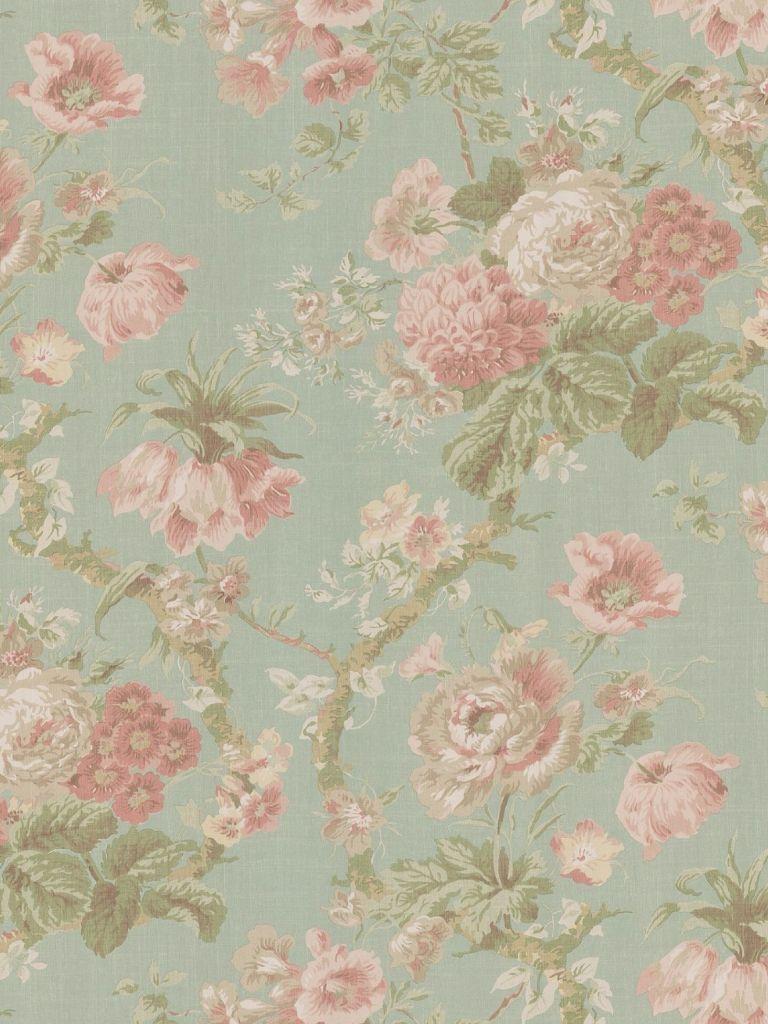 Widescreen Vintage Flower Wallpaper Delman Hardman 1920 X
