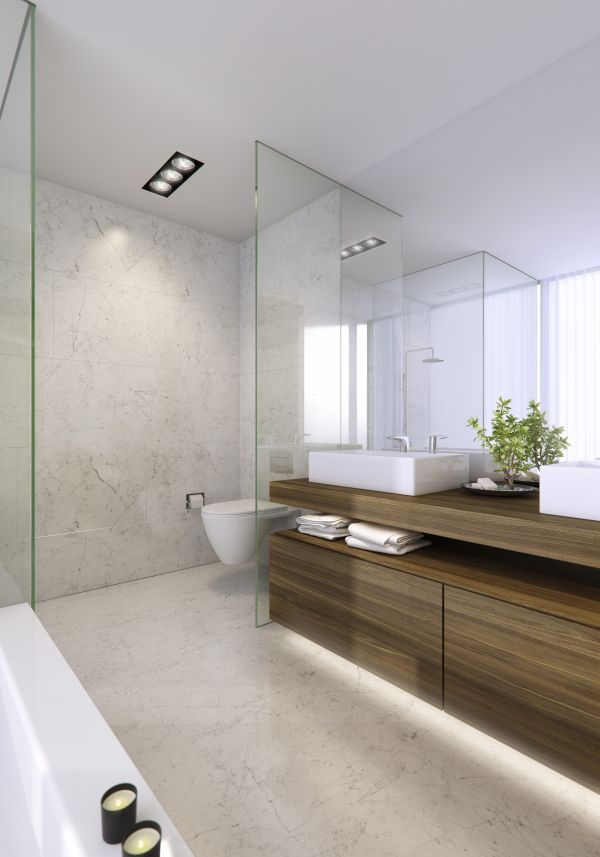 pictures to hang in master bathroom%0A Apartments  Awesome Luxury Apartment Bathroom Decorating Ideas With Large  Mirror Vessel Sink Hanging Wooden Cabinet With Glass Wall And Tile Wall  With