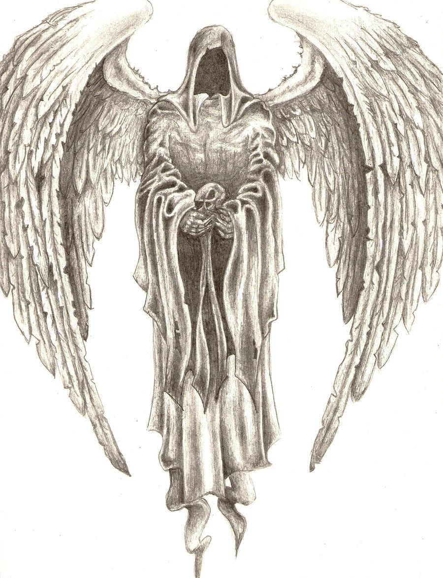 Death Drawings | Drawings Death Angels Pictures | drawings ...