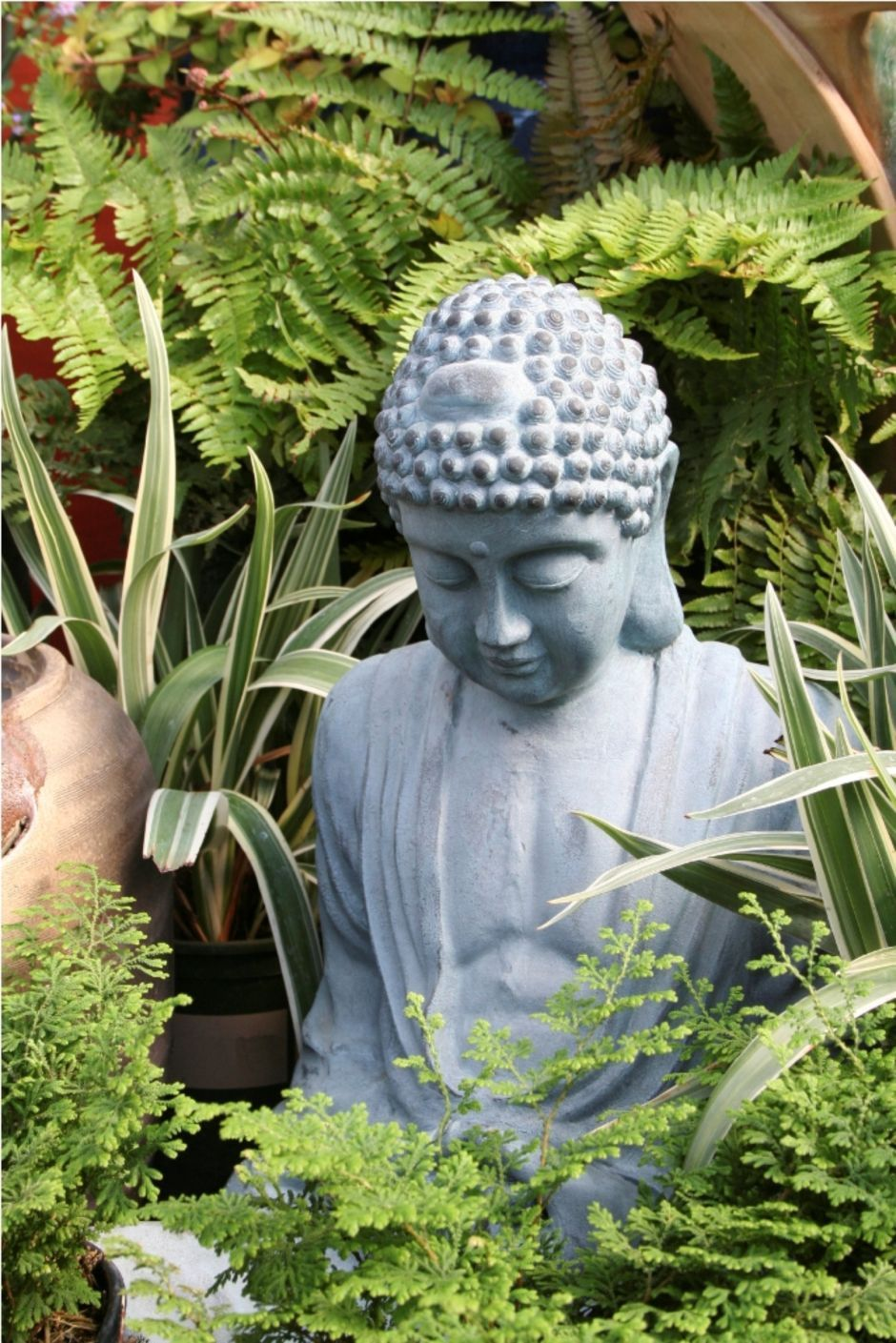 Awesome Buddha Statue For Garden Decorations Buddha Garden Buddha Statue Garden Garden Statues
