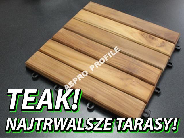 Moduly Podesty Tarasowe Drewniane Teak Tylko Tu 5304976166 Oficjalne Archiwum Allegro