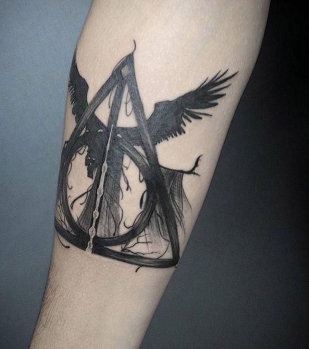 Tatouages Harry Potter Les Vrais Fans Ont Vraiment L Histoire