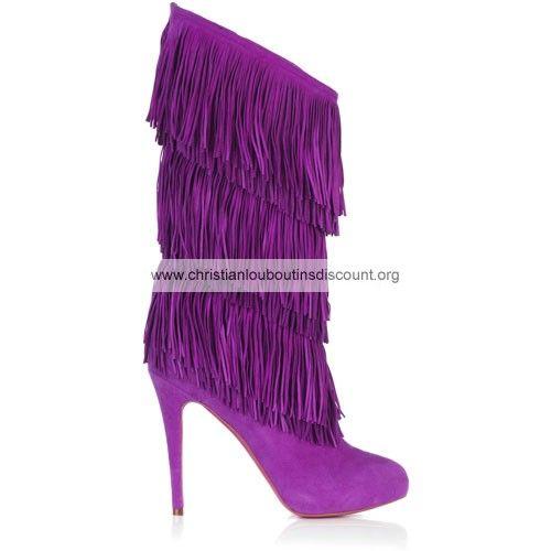 Christian Louboutin Forever Tina Purple