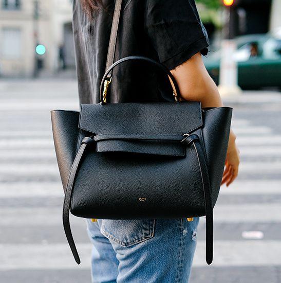 74b01b6ee8 ... femme noir sacs tendance 2015. Le sac Belt de chez Céline, futur must  have ? (blog Andy Heart)