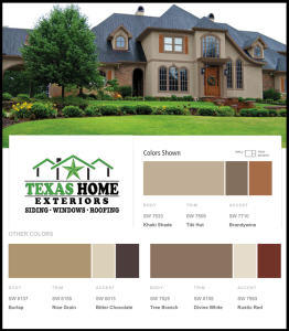 Khaki Shade Tiki Hut Exterior Paint