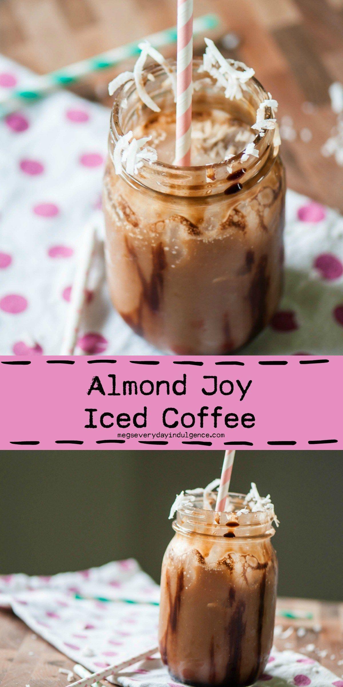 almond milk coffee drinks
