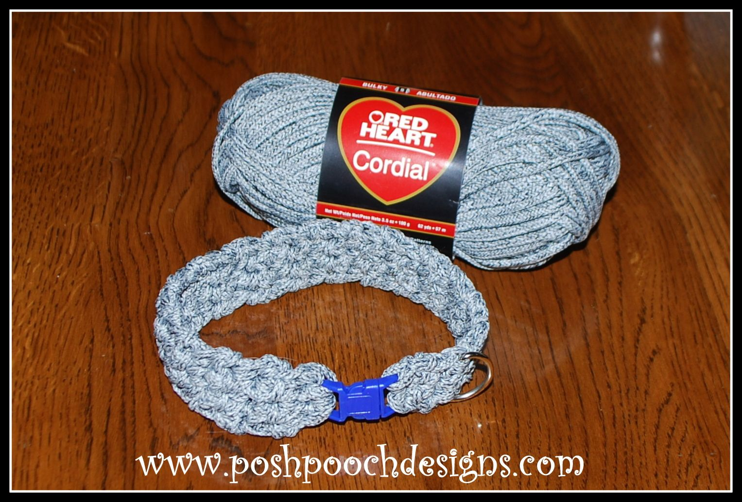 Cord Dog Collar and Leash Free Crochet Pattern | Knitting ...