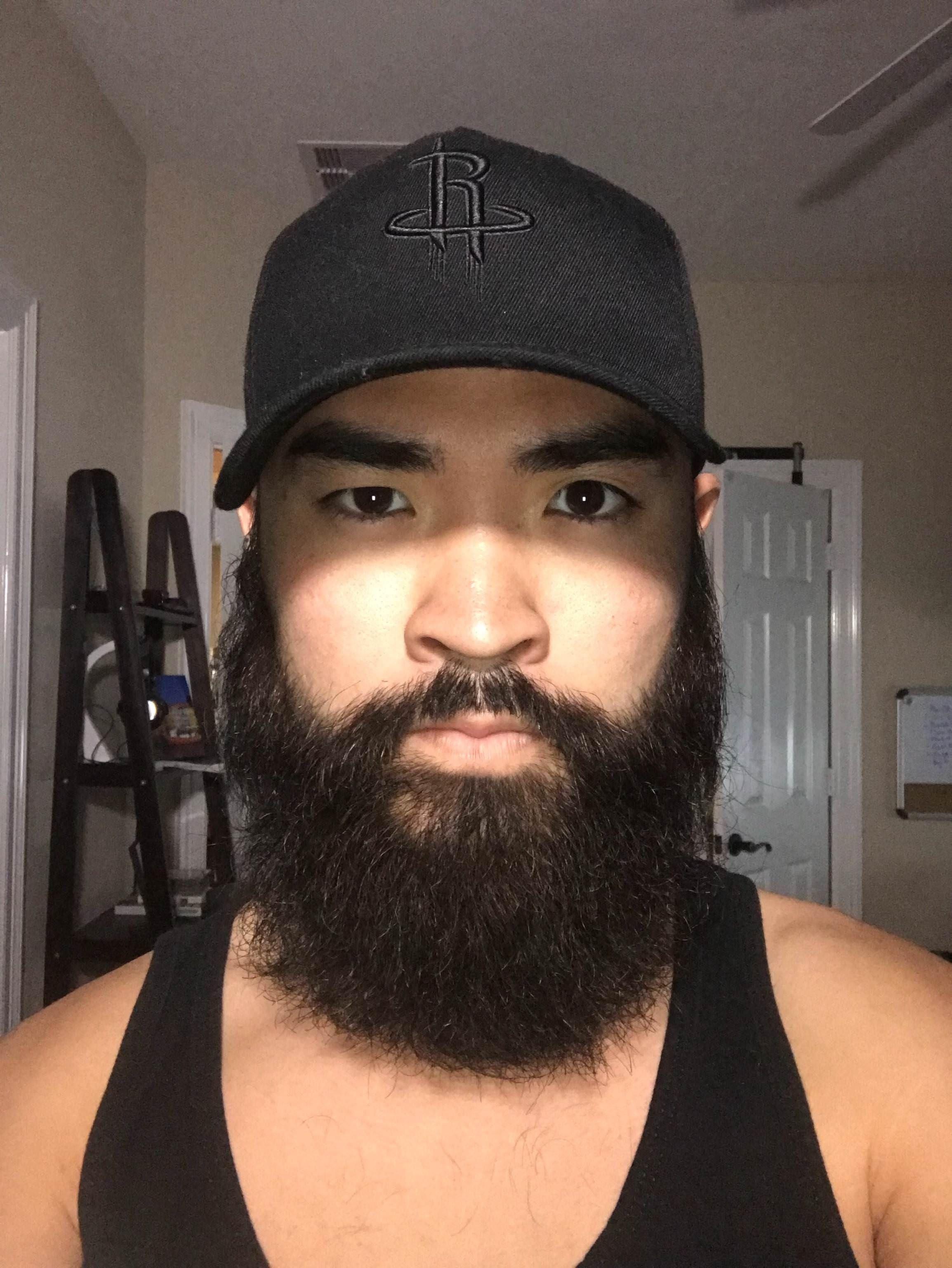 Man a how asian grow beard to Help I'm