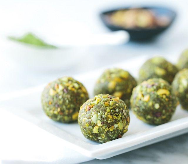 Try It Matcha Pistachio Bliss Balls Matcha Recipe Recipes