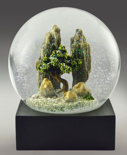 competitive price save up to 80% new york Amazon.com - Rock Garden Snow Globe by CoolSnowGlobes | snow ...