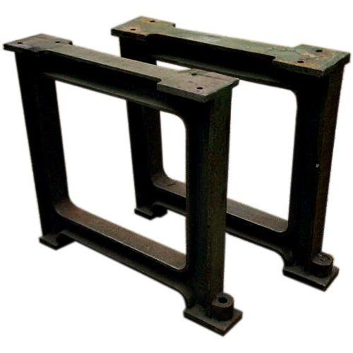 2 beautiful industrial cast iron legs anno 1890 price pair h rh pinterest com
