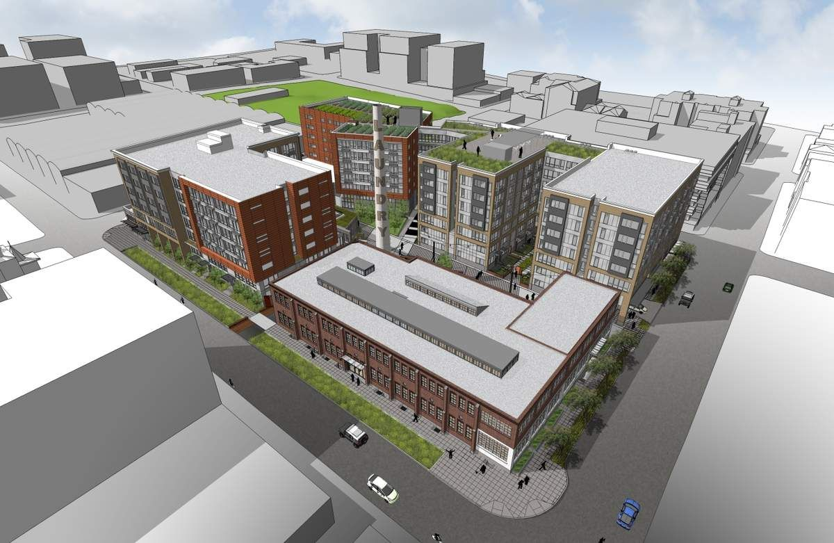 Seattle Map Lake Union%0A The Stack House in Seattle will include     residential units