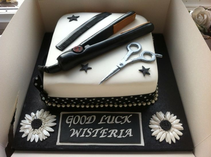 Ghd Hair Salon Cake For A New Venture To Include