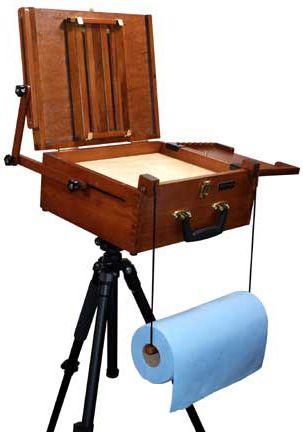 sienna all in one pochade box by craftech easels plein air easel rh pinterest com
