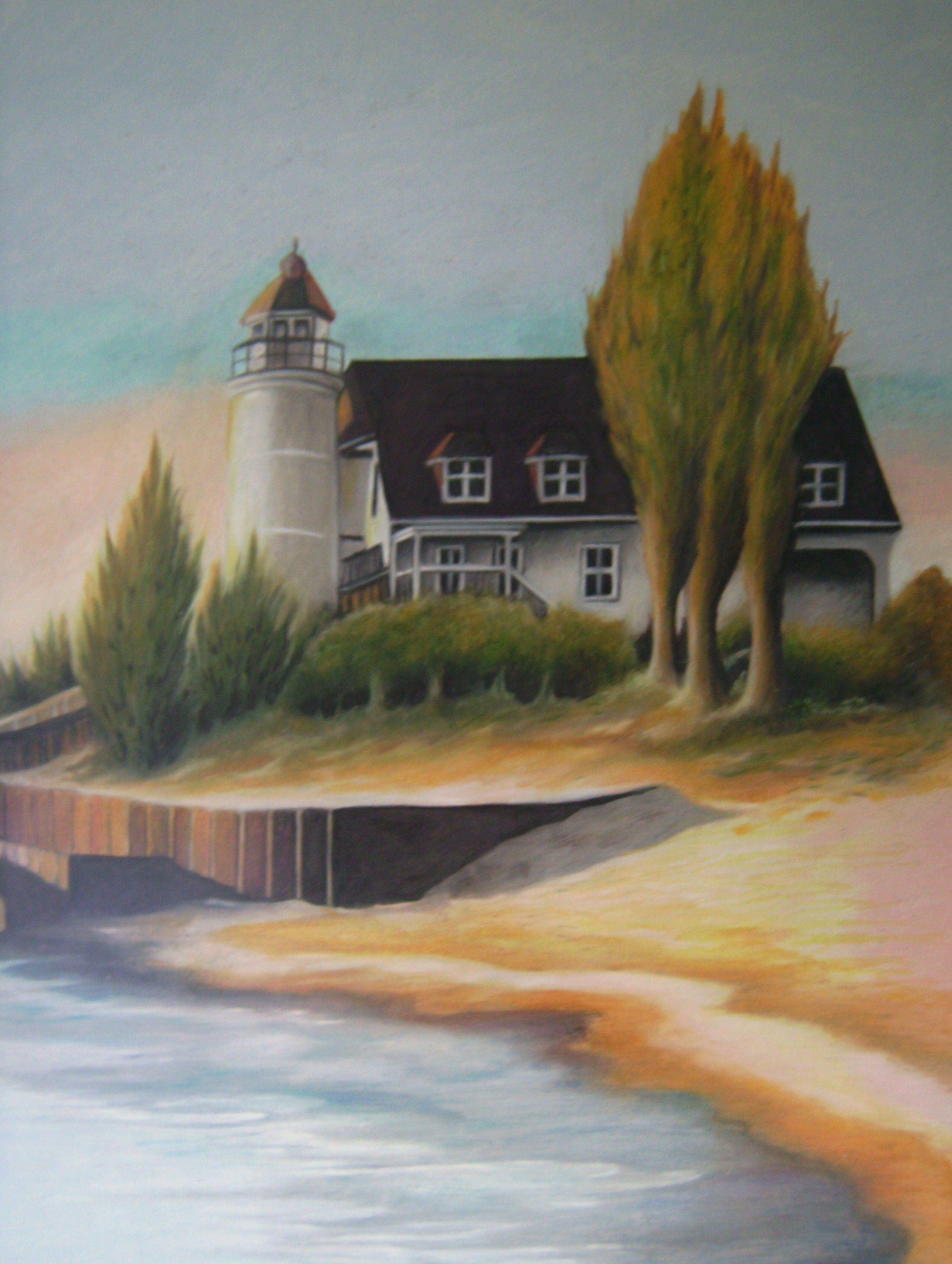 Colored Pencil Lighthouse For Sale Color Pencil Art Colored Pencils Artist Inspiration
