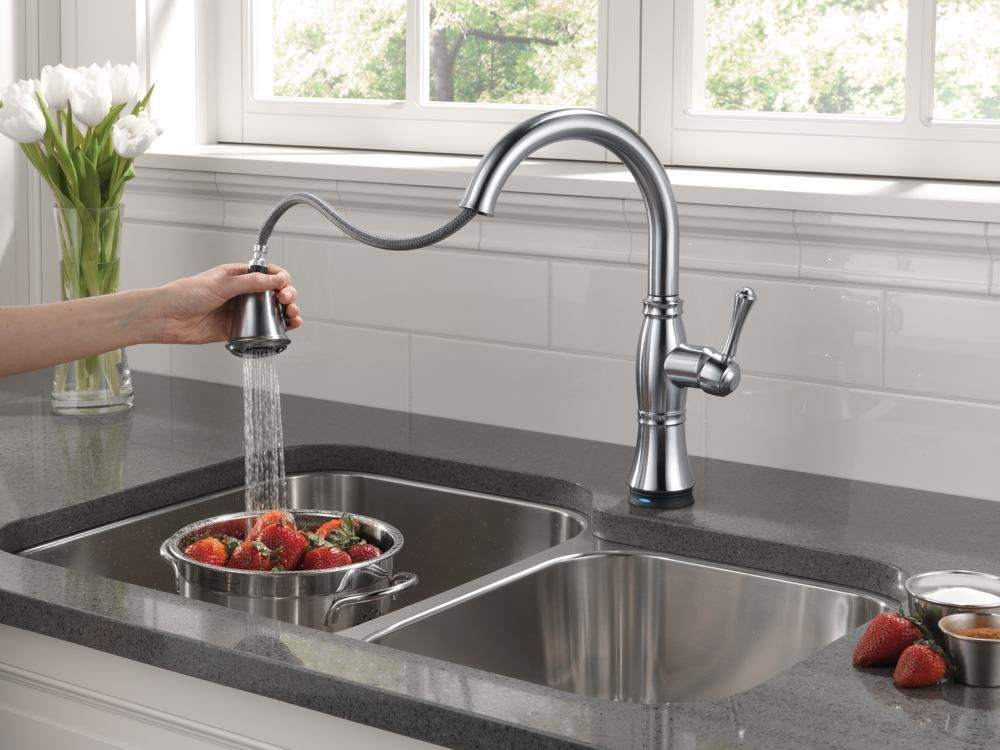 Kitchen Faucet Fun with Delta | Kitchen faucets, Tap and Kitchens