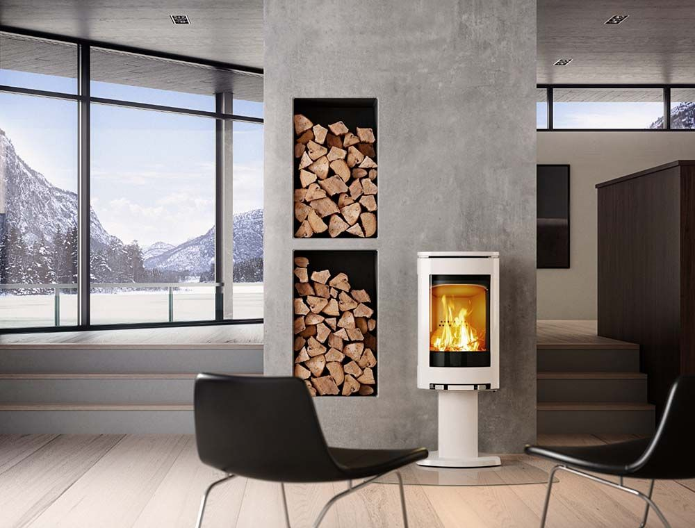 po le bois jotul f373 blanc disponible sur la c te d. Black Bedroom Furniture Sets. Home Design Ideas