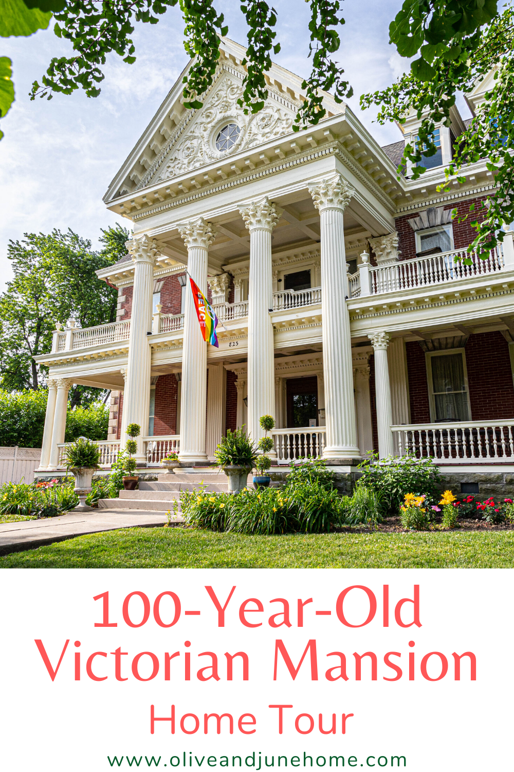 Who doesn't want a sneak peek at a beautiful old house? In my post, I share one of the most beautifully restored historic homes I've ever seen. You don't want to miss this gorgeous Victorian mansion! #HistoricHome #VictorianMansion #OldHouse #HomeTour