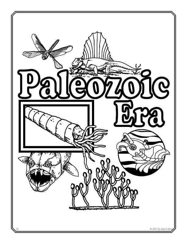 Prehistory Coloring Pages Junior Prehistory Science Tools