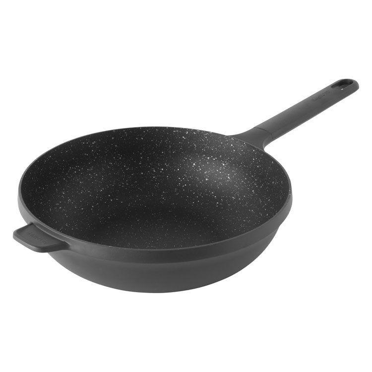 Gem Cast Aluminum 11 Non Stick Stir Fry Pan 4 1 Quart Stir Fry Pan Stir Fry Fries