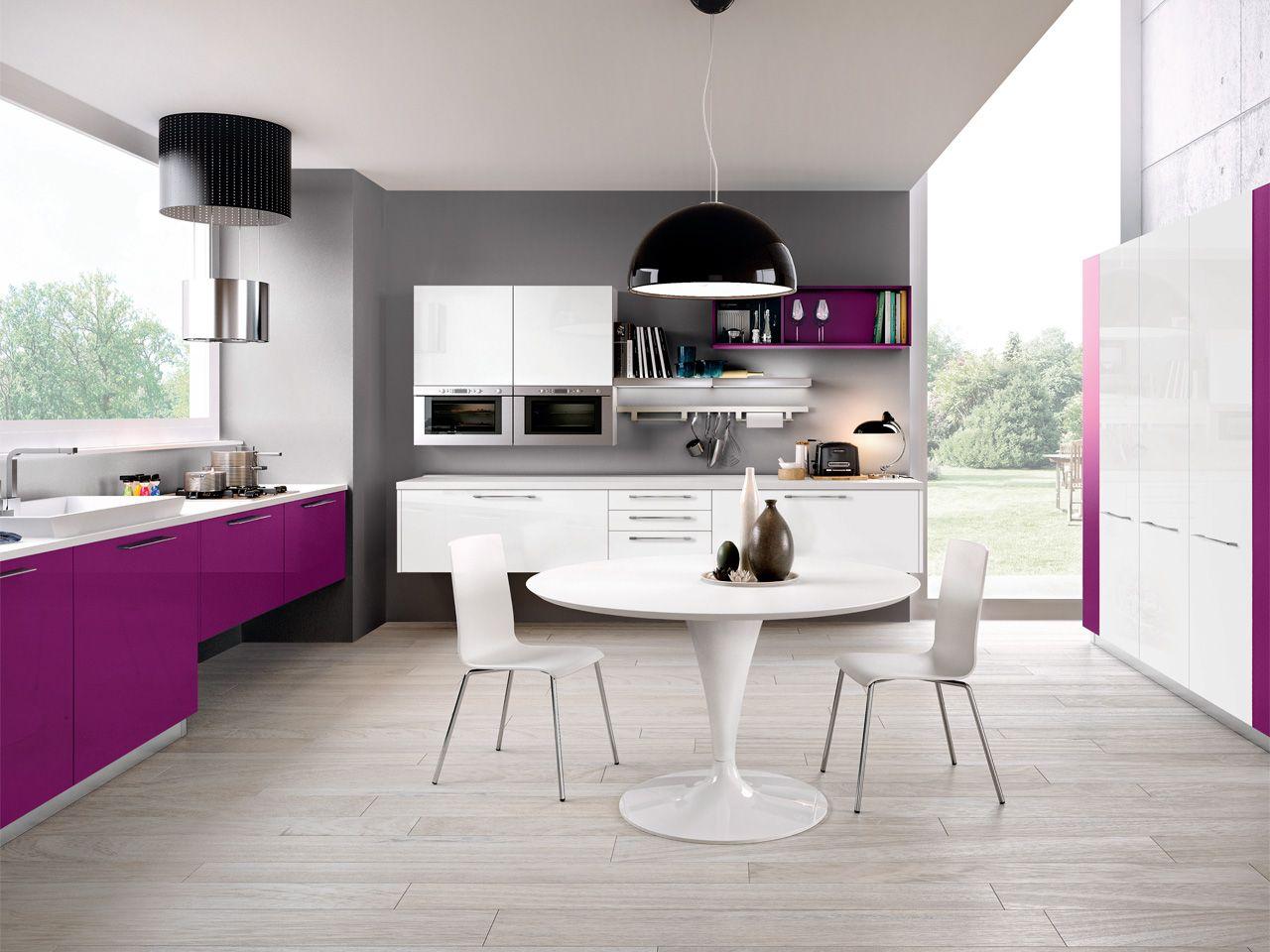 adele project è una cucina di design piacevole al tatto ma di ... - Lube Cucine Outlet
