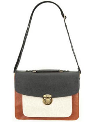 FOLDOVER BRIEFCASE BAG, $25, TILLYS.COM