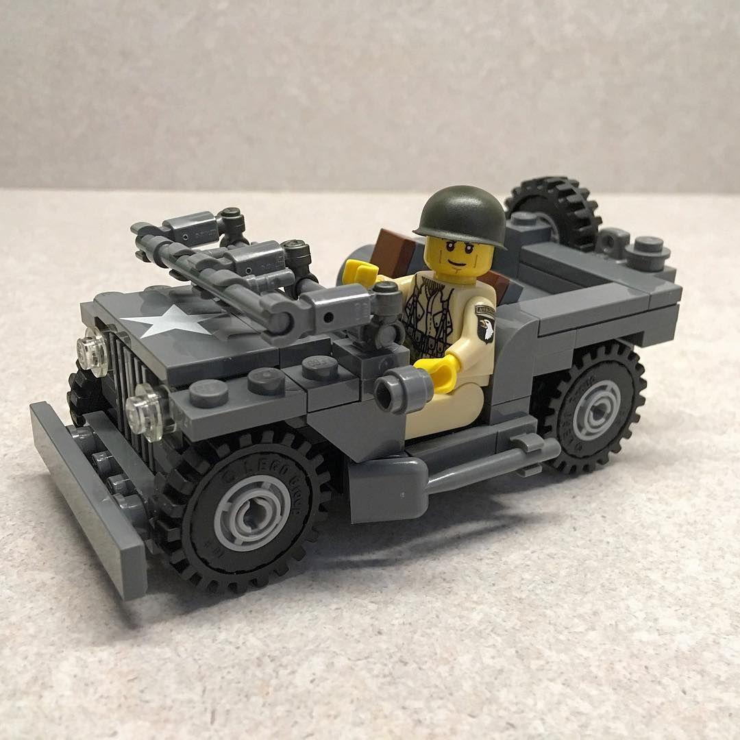 Brickmania US Army Jeep  #lego #American #WW2 #WWII #Jeep #Army