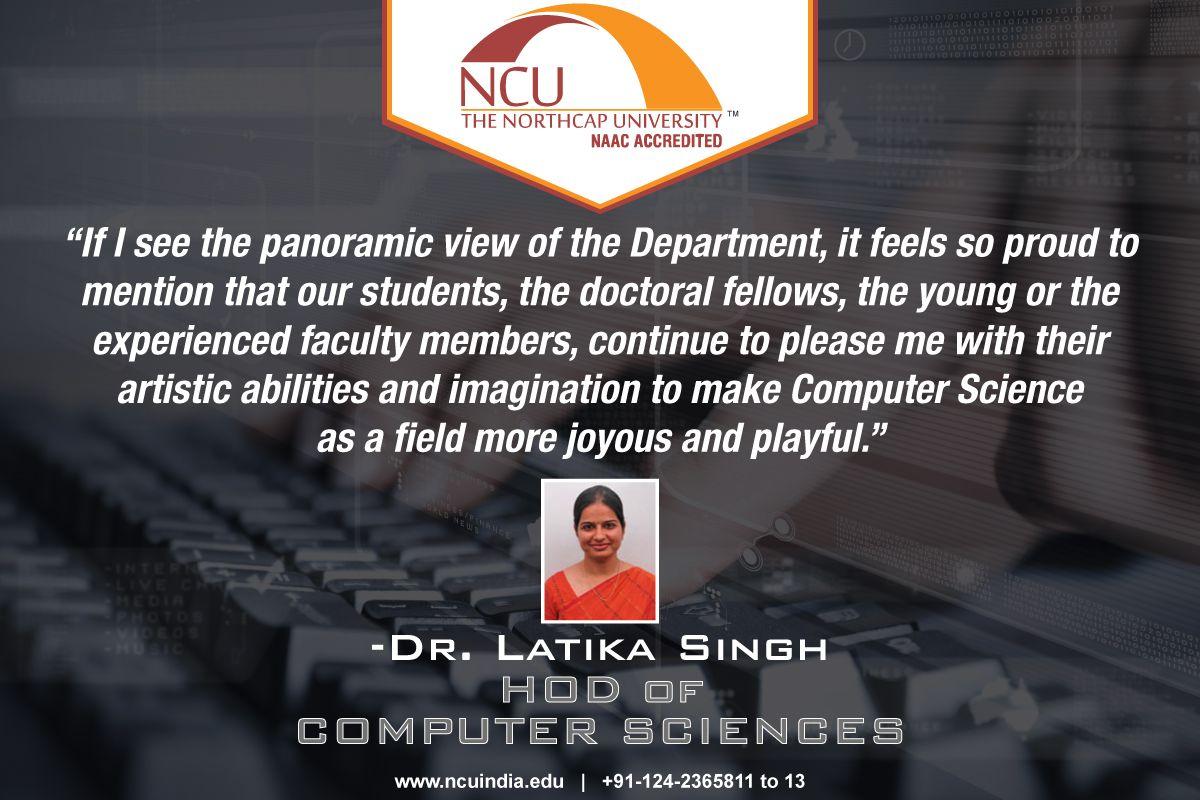 The NorthCap University has developed a sui generis