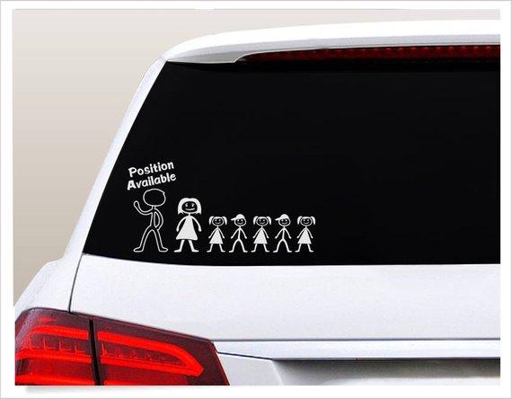 Mom of Boys Car Decal Sticker Truck RV Vinyl Art