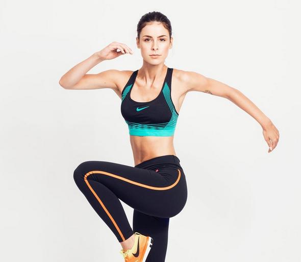 Sportlich Lena Meyer Landrut Zeigt Bauchmuskeln In Neuer Nike