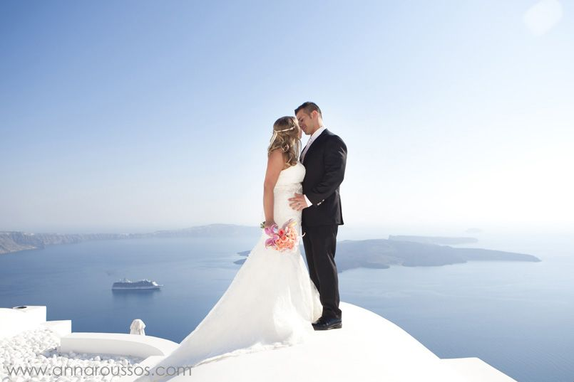 Imerovigli wedding photography