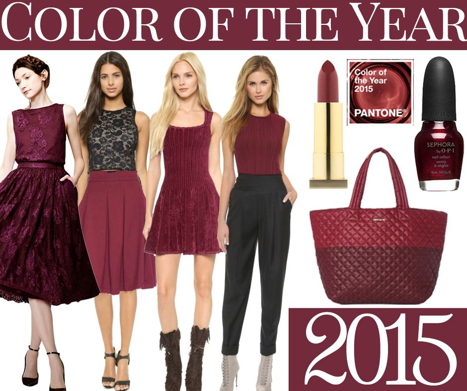 A look at the Fashion Color of the Year for 2014 and 2015 ...