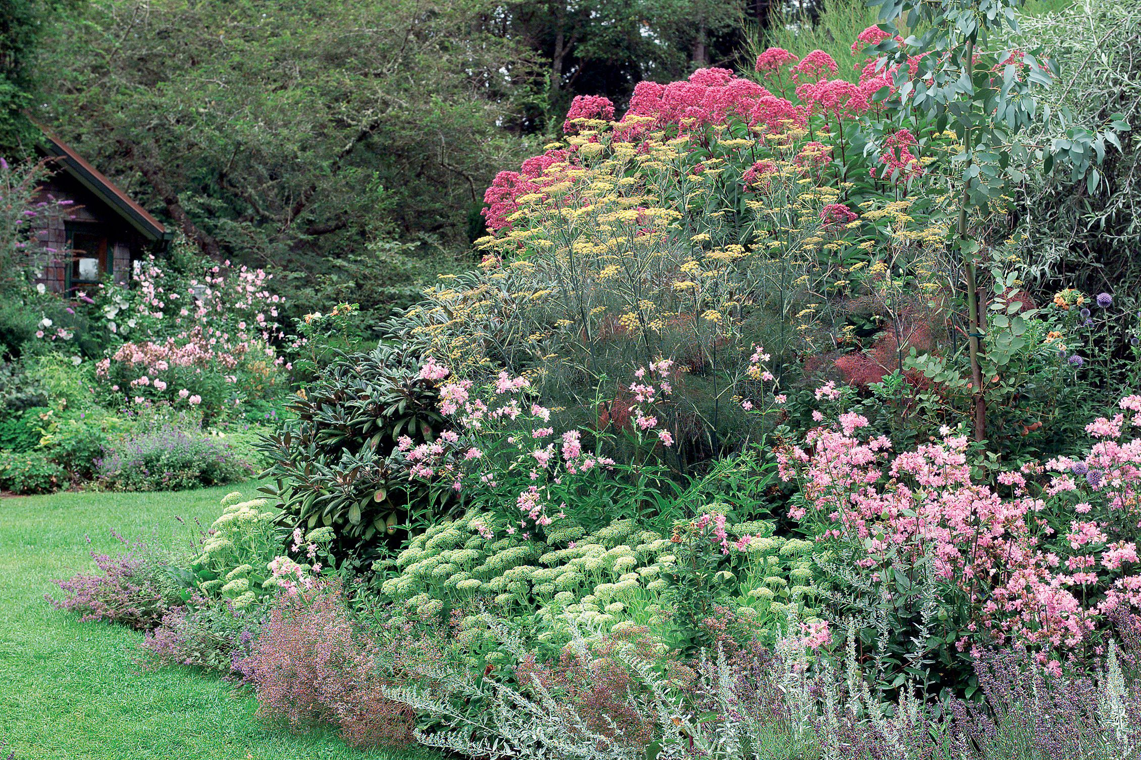 Garden borders are great to ways to