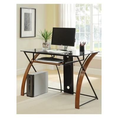soron computer desk laurel oak mibasics in 2018 products rh pinterest com