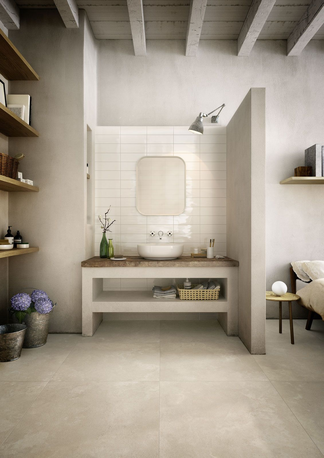 cost of tile for bathroom floor%0A Available on all the Porcelain stoneware flooring by Marazzi Timeless at  the     BEST PRICE GUARANTEED     Discover Marazzi Timeless Beige cm MMWP Stone
