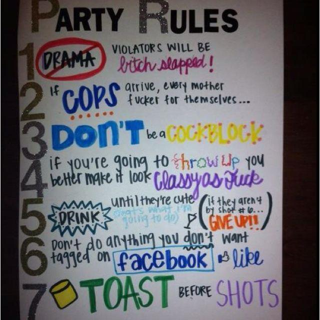 Party Rules, Random