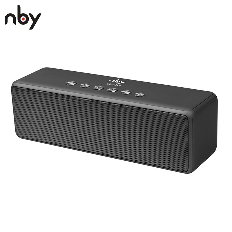 Nby 5520 Tragbare Bluetooth Lautsprecher Subwoofer Lautsprecher Drahtlose Lautsprecher Sound System 3d Stereo Musik Surround Mit Mic Tf Karte Wireless Speakers Bluetooth Wireless Speakers Bluetooth Speakers Portable