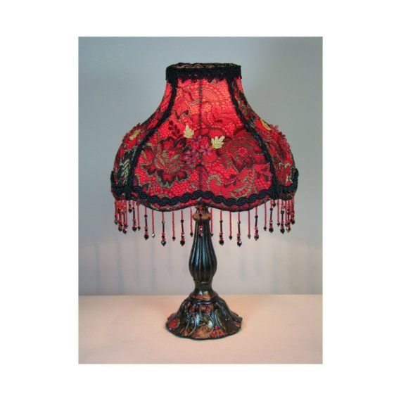 Cyber Holiday Small Victorian Styletable Lamp With Shade Pion S Corset 0416