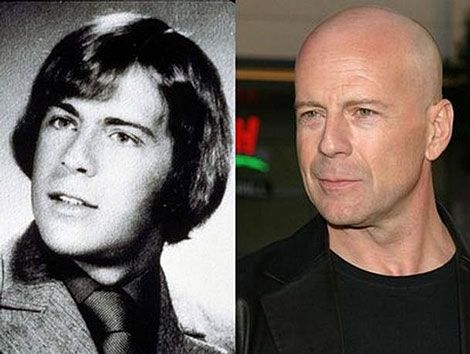 Bruce Willis Then And Now