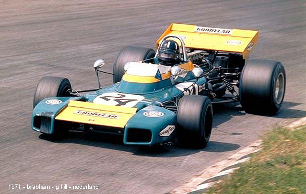 Ugly Formula Zandvoort Graham Hill Brabham