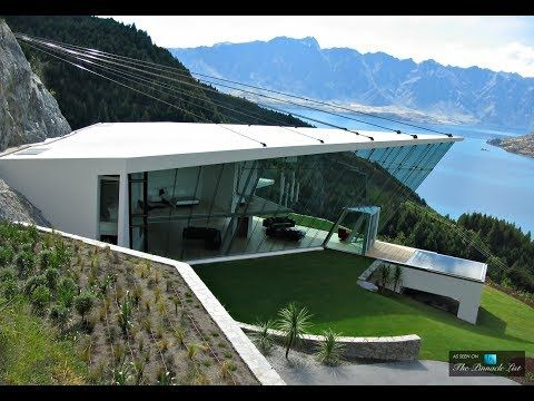 futuristic ultra modern luxury home with 270 degree panoramic views in queenstown new zealand - Ultra Modern Luxury Homes