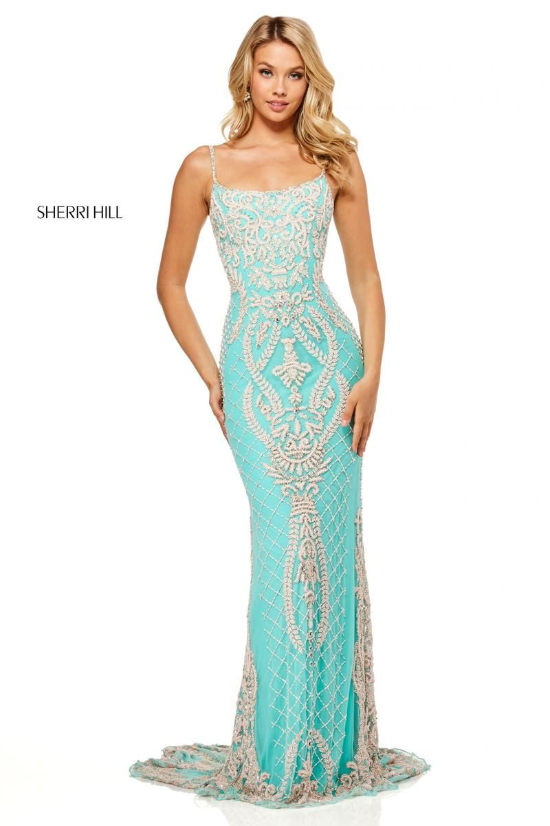 f32398f172a Sherri Hill Style 52527 black size 12