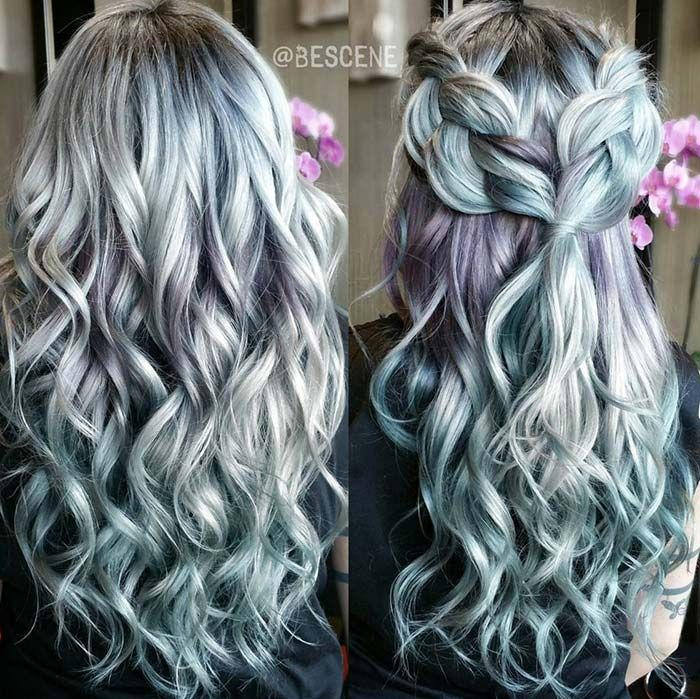 blue hair styles 50 bold pastel and neon hair colors in balayage and ombre 1525 | 0afee1525f96a59807e4d12ef661a466