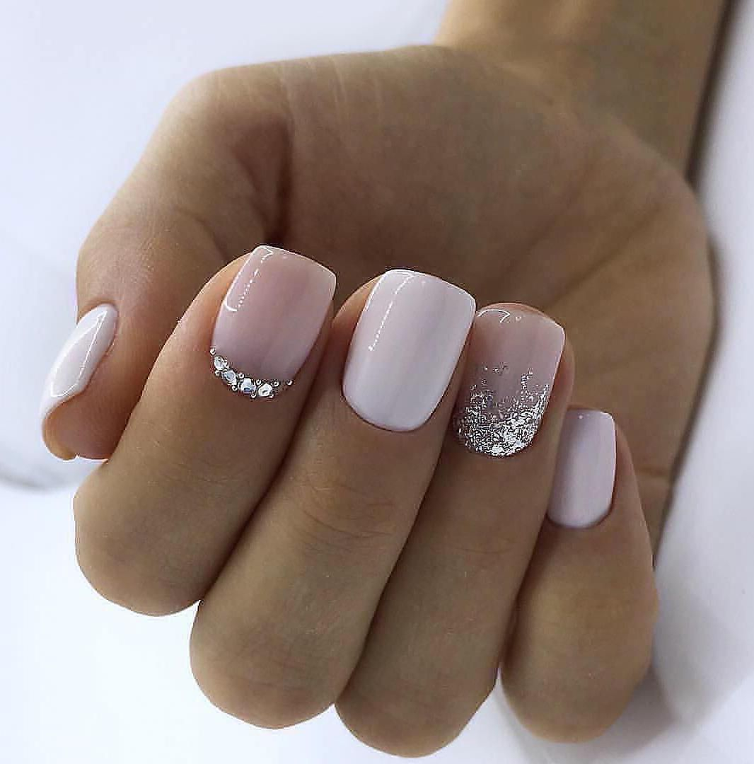 60 Trendy Square Nail Art Ideas For Short Acrylic These Trendy Nail Designs Ideas Would Gain Yo Pink Gel Nails Short Square Acrylic Nails Square Acrylic Nails