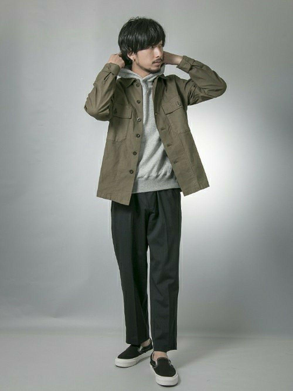 56ef3eef9b10 アーバンリサーチ西梅田 ブリーゼブリーゼ店 | moriyamaさんのシャツ/ブラウス「URBAN RESEARCH UR VINTAGE  MILITARY SHIRTS」を使ったコーディネート