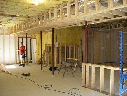 59 framing around ductwork in basement how to repair framing rh in pinterest com