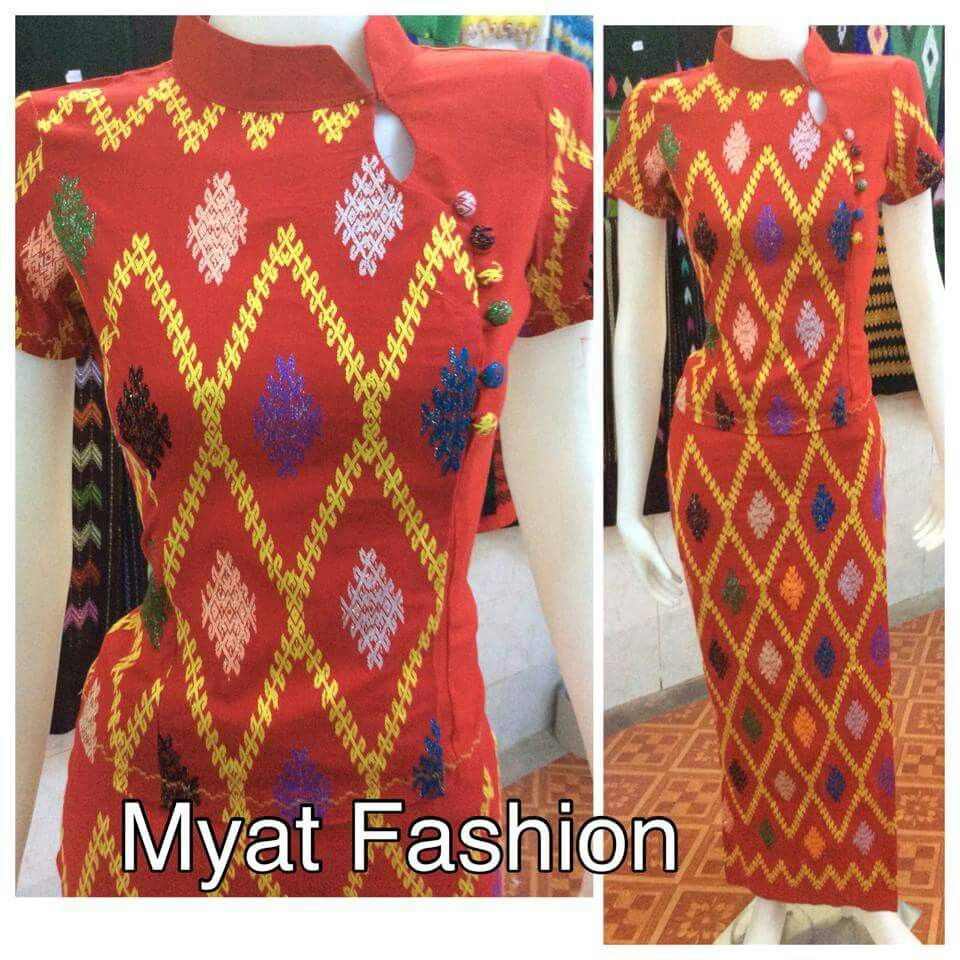 Myanmar Traditional Dress, Myanmar Clothes