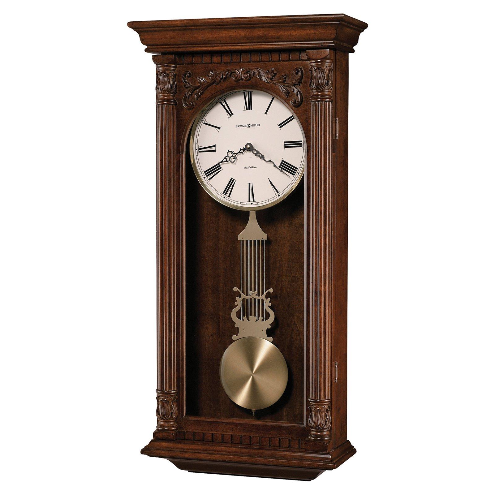 Howard Miller Greer 16 25w X 34h In Wall Clock Wall Clock Chiming Wall Clocks Clock