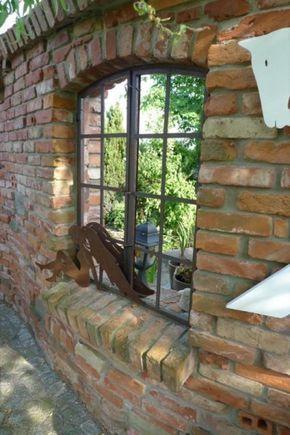 Durch Gespräche über den Gartenzaun erfuhr ich von einem weiteren - ruinenmauer im garten